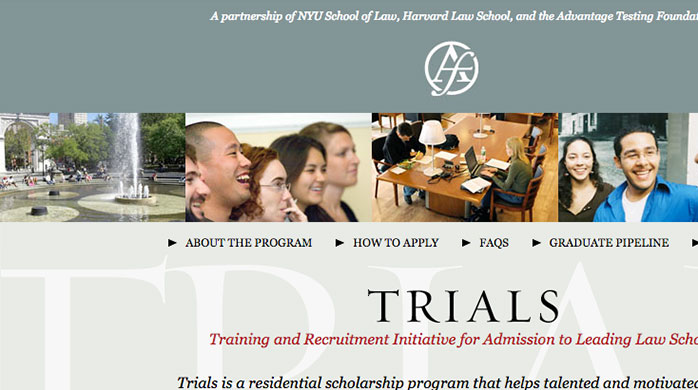 Training and Recruitment Initiative for Admission to Leading Law Schools (Trials)