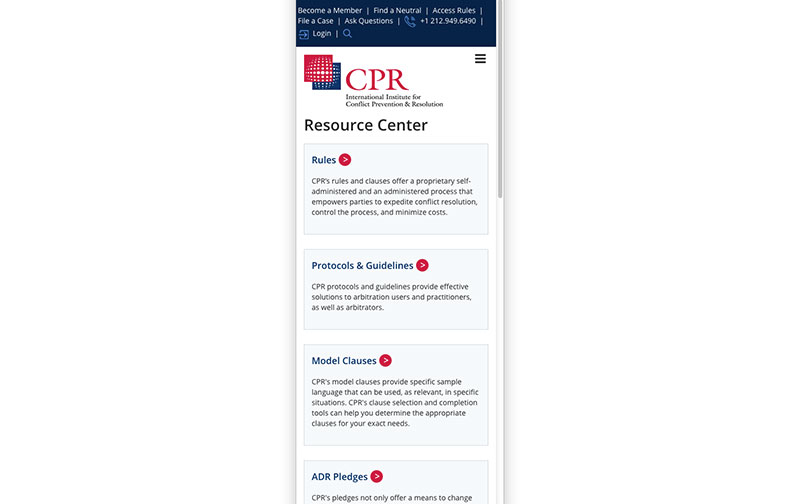 International Institute for Conflict Prevention & Resolution, Inc. (CPR) 15.jpg