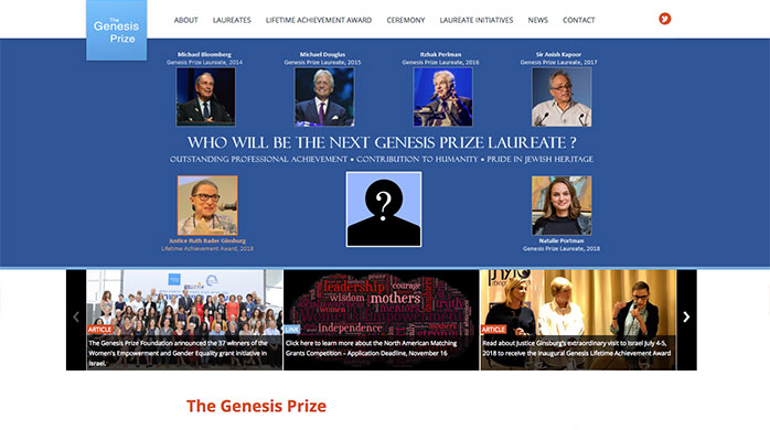 The Genesis Prize Foundation