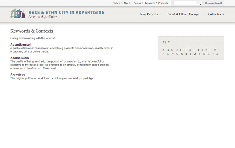 Race & Ethnicity in Advertising - America: 1890-Today